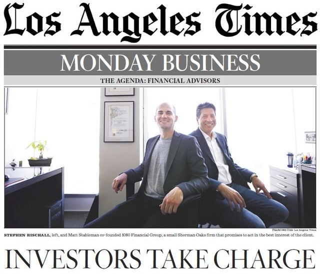 Los Angeles Times Feature, Financial Advisors